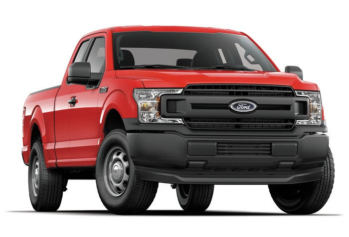 A Ford F-150