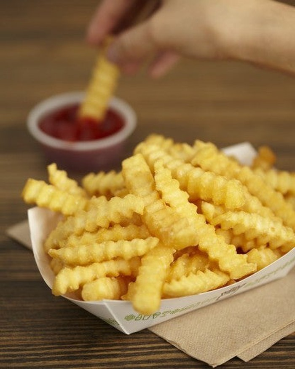 Shake Shack's crinkle cut fries.