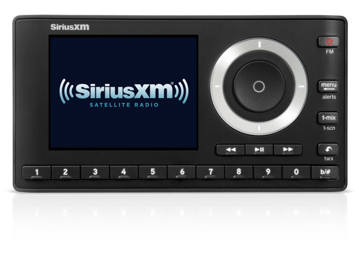 A Sirius XM radio.