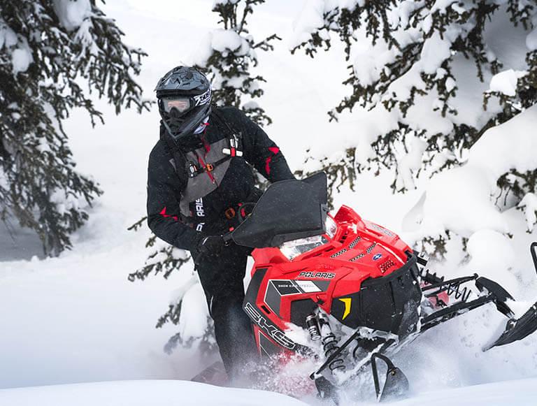 Polaris 800 snowmobile