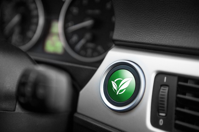Ignition switch for alternative-fuel car