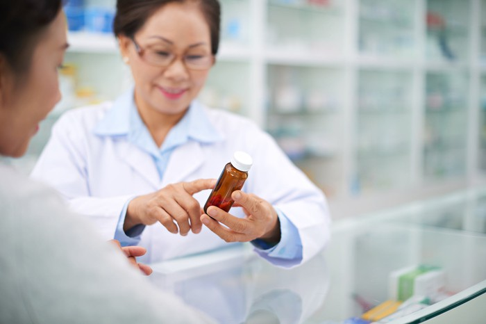 A pharmacy technician