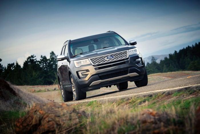 Ford's 2016 Explorer.