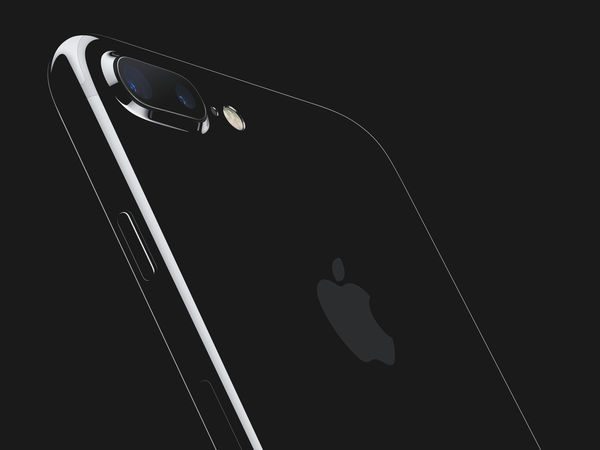 Apple iPhone 7 Jet Black Hero