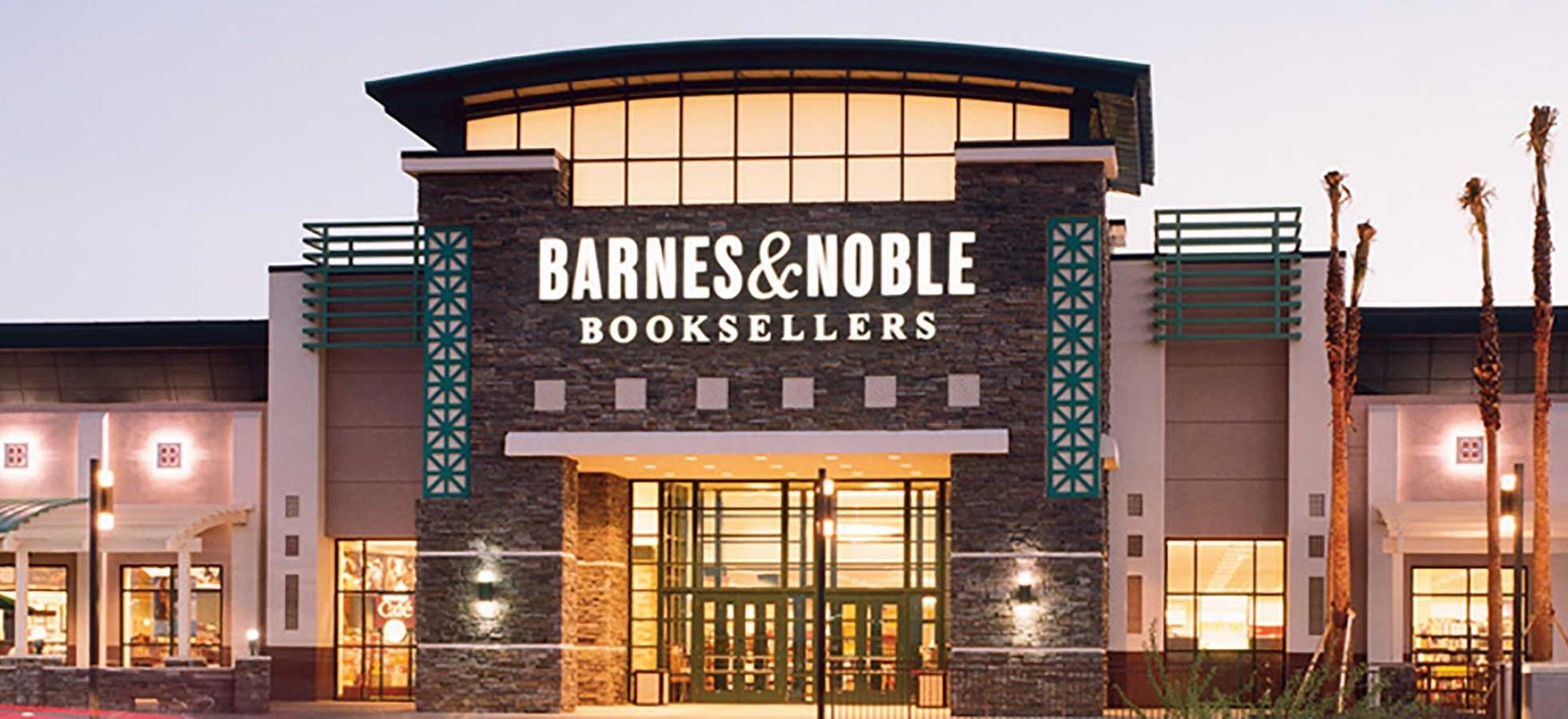 Exterior of Barnes & Noble store