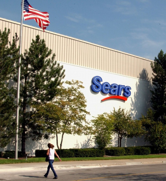 A Sears department store