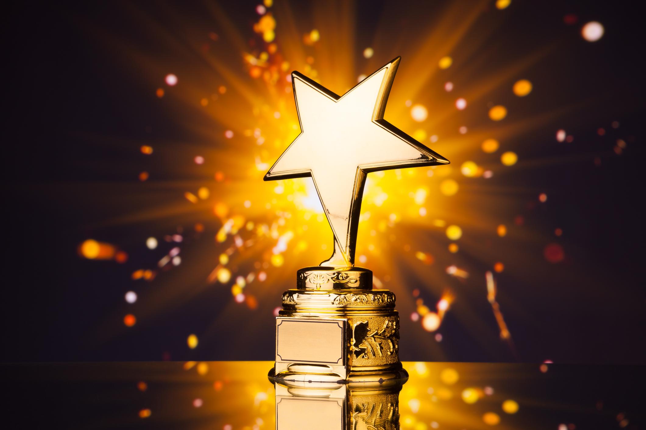 gold star trophy