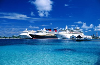 3 Cruise Ships New Providence Bahamas