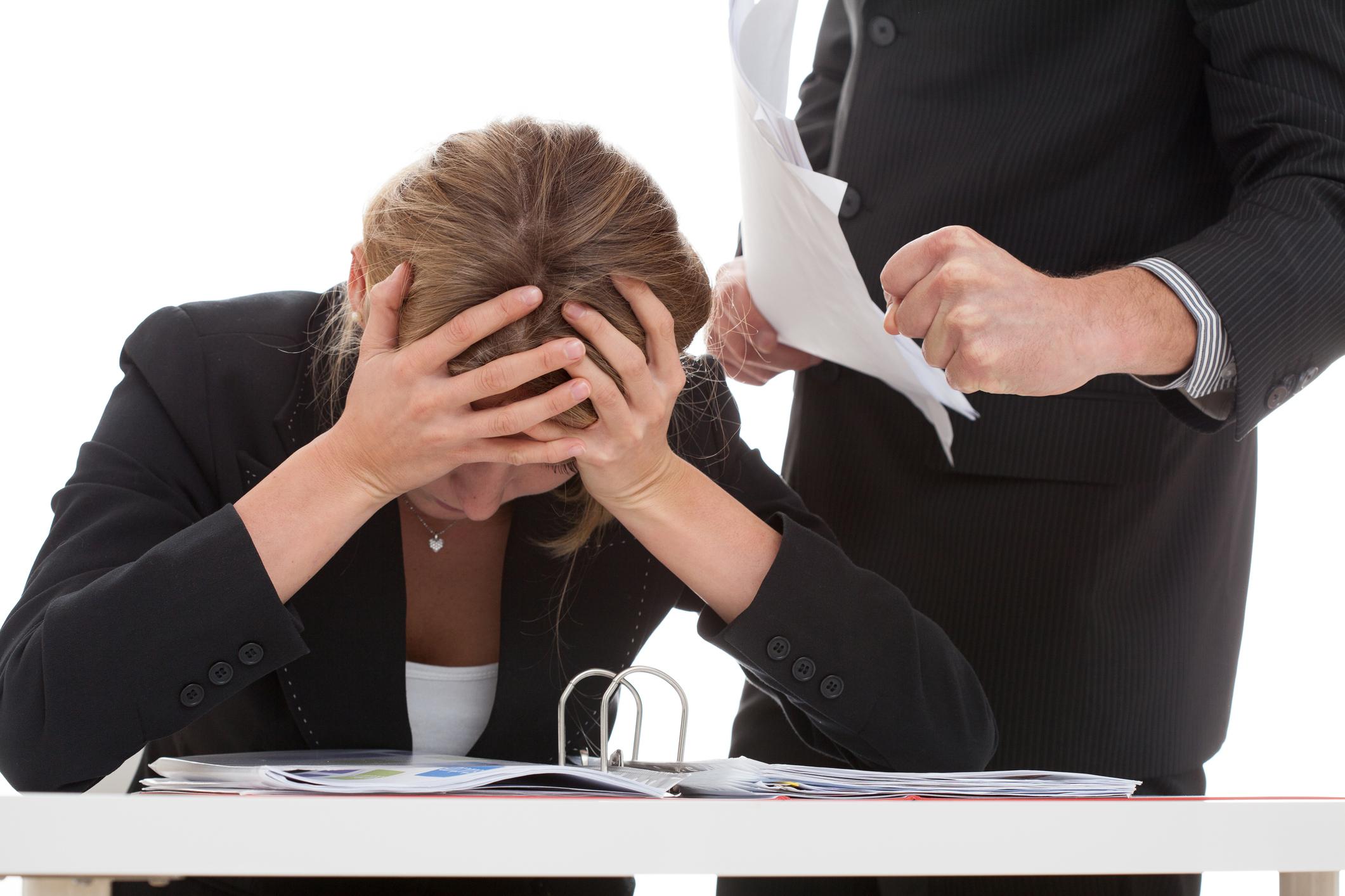 Employee frustrated with demanding boss