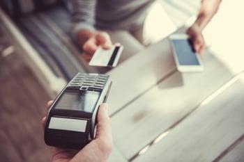POS card payment