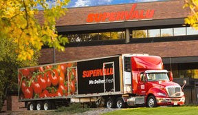 A Supervalu truck