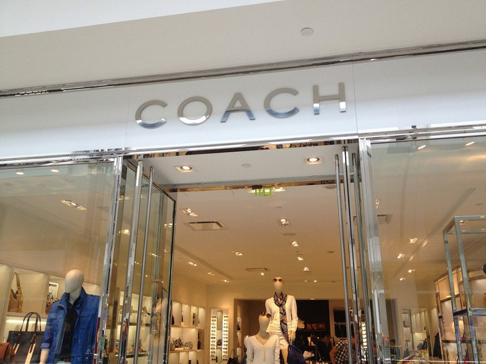 Coach store front