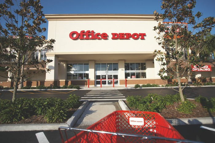 An Office Depot store