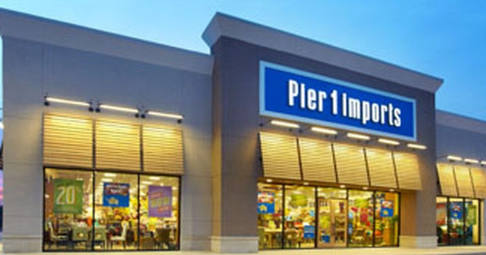 Exterior of a Pier 1 Imports store.