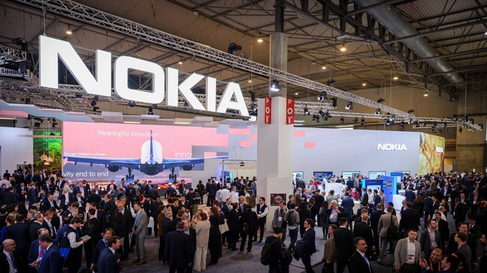 Nokia's Experience Center at MWC 2017.
