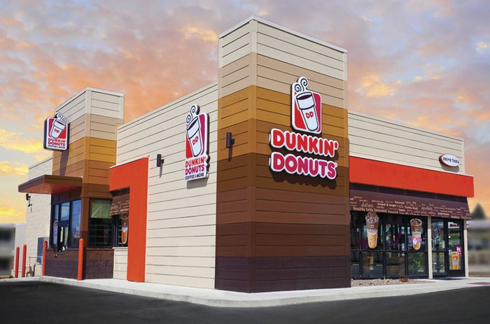 Dunkin Donuts storefront