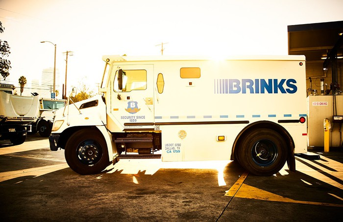 Brink's armored truck