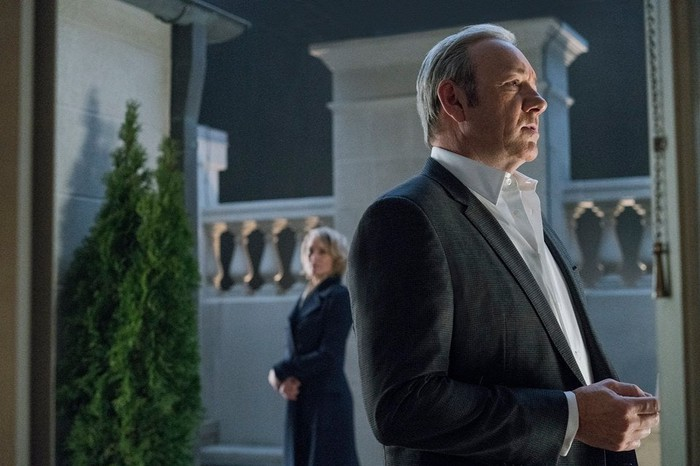 "A scene from ""House of Cards""."