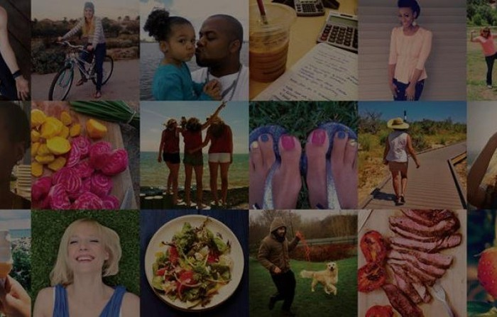 A collage of Weight Watchers images