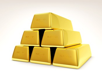 Gold bars GettyImages-502725271