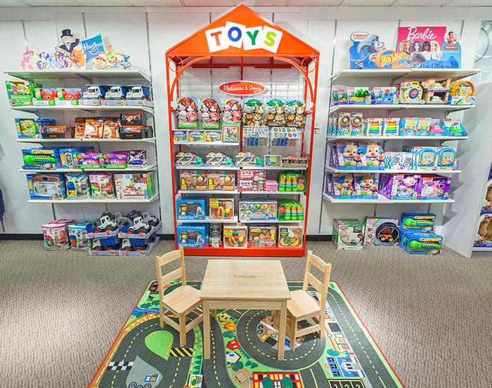 A J.C. Penney toy shop