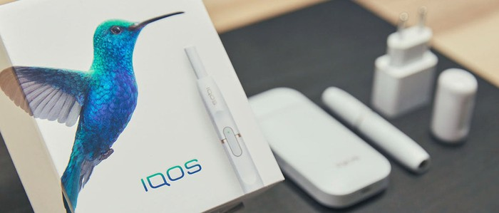 PMI's iQOS heat sticks.