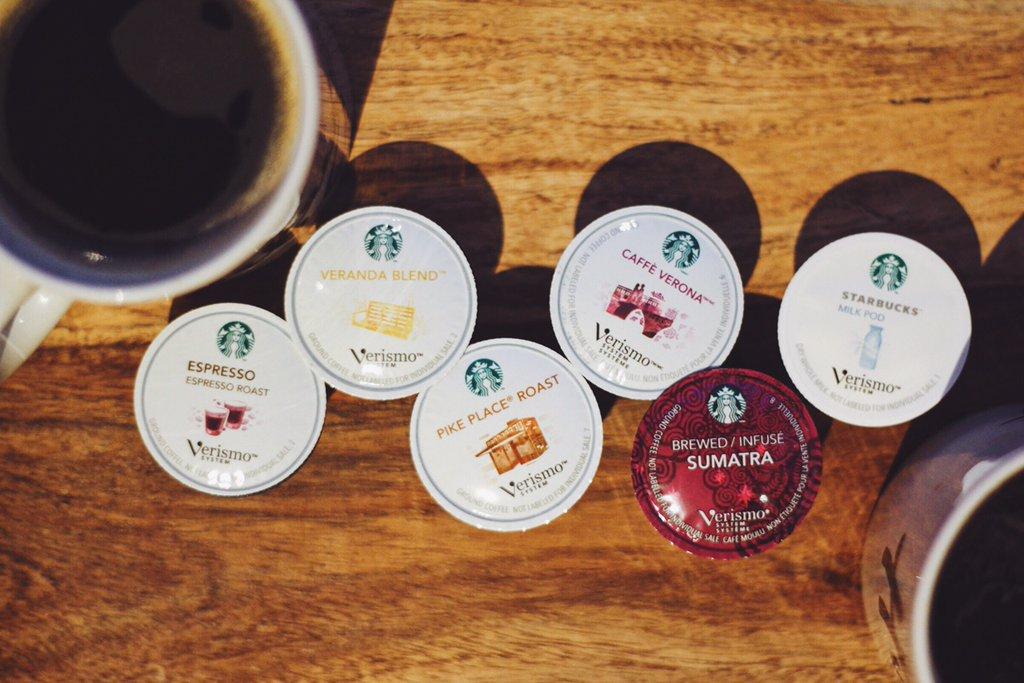 Starbucks coffee pods