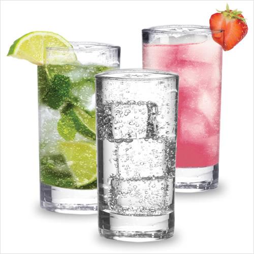 A sample of SodaStream beverages