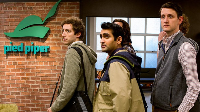 Scene from television show Silicon Valley.