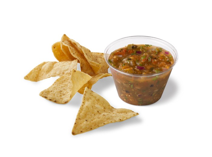Chipotle chips and salsa