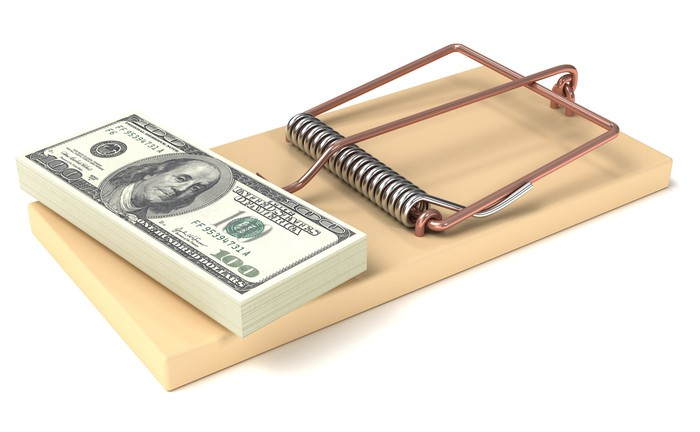 money on a mouse trap