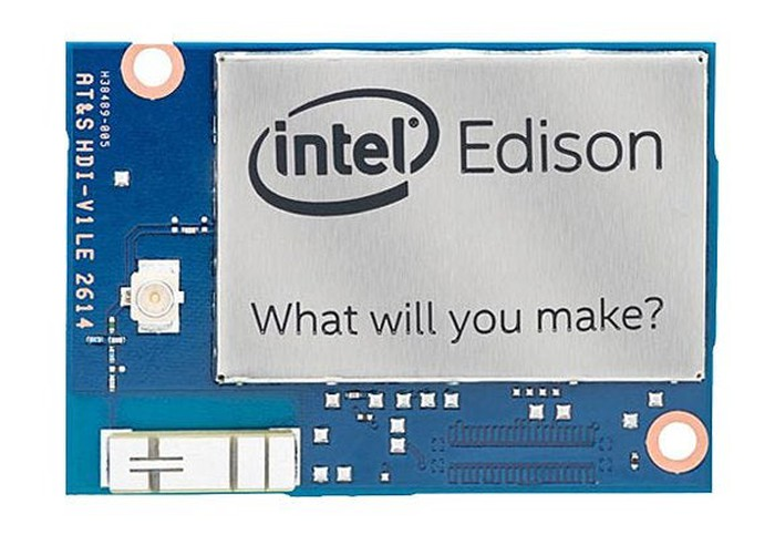 Intel's Edison chip for IoT devices.