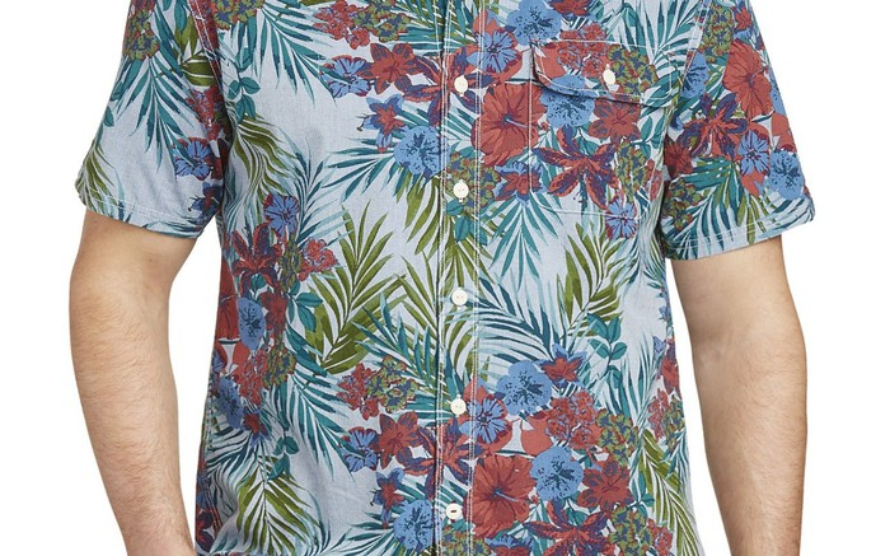 A Hawaiian shirt