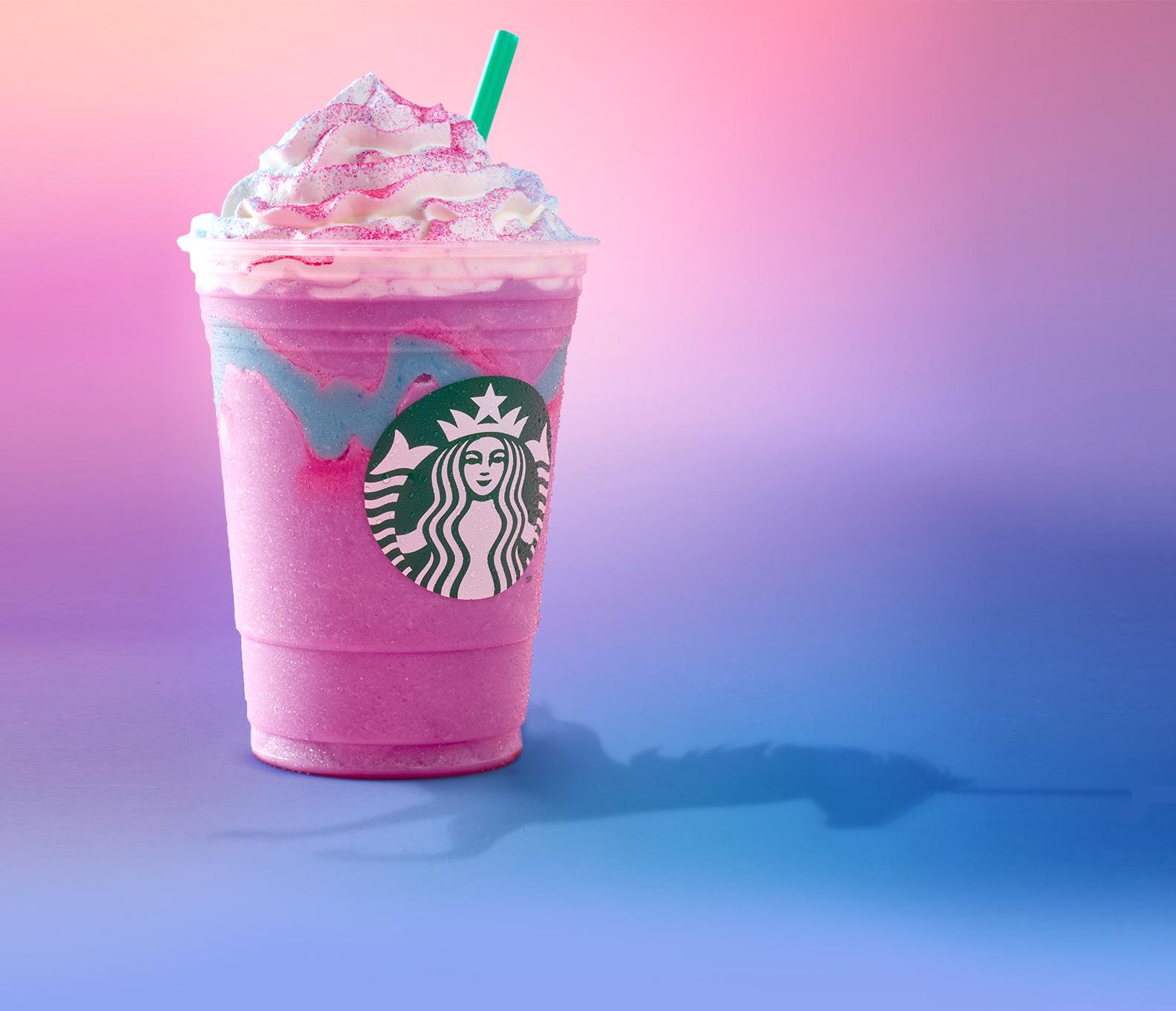 A Unicorn Frappuccino