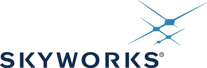 Skyworks' logo.