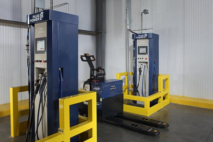 Plug Power charging equipment.