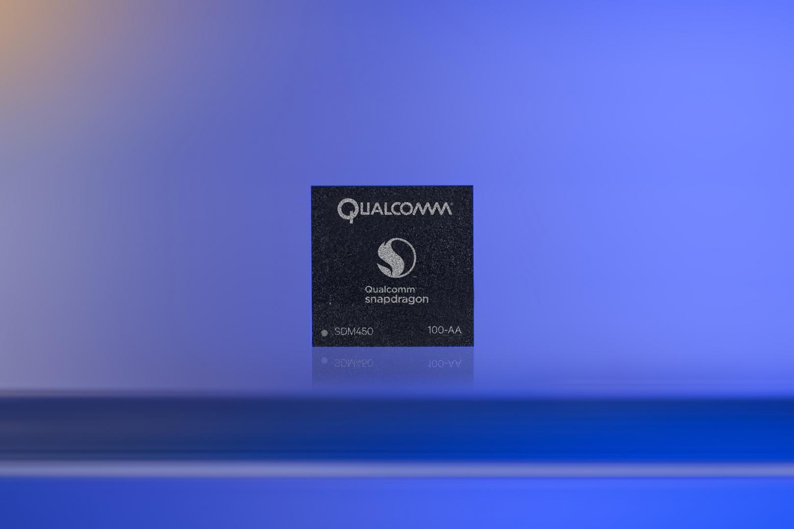 Qualcomm's Snapdragon 450 chip.