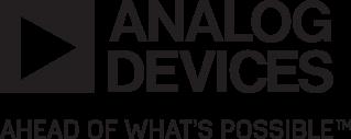 Analog Devices' logo.