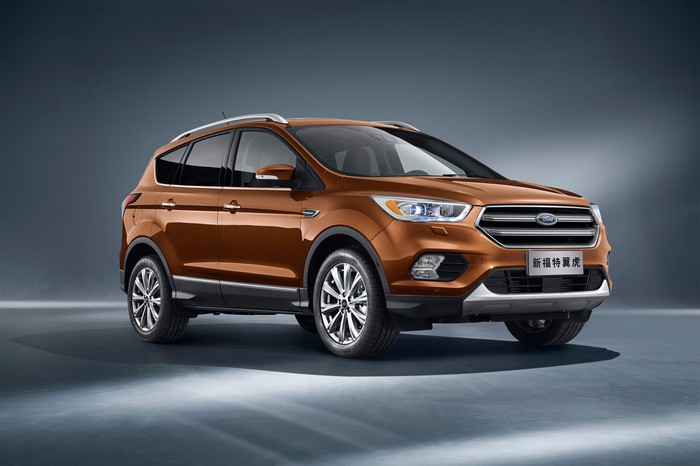 2017 Ford Kuga SUV as sold in China.