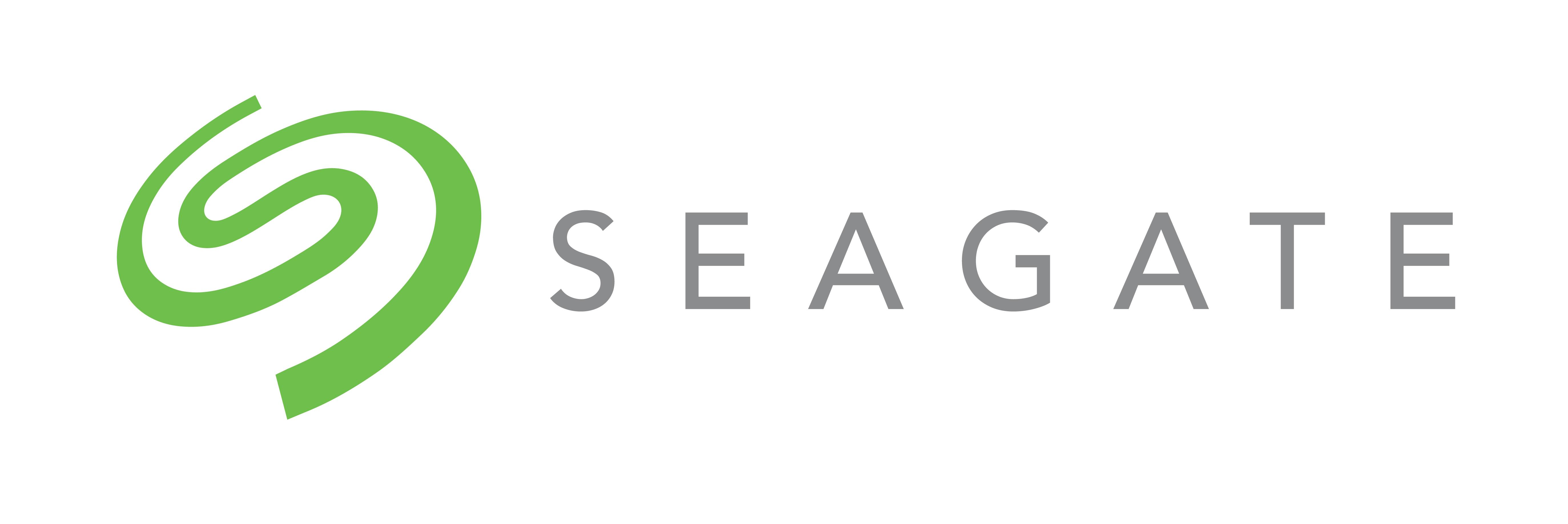 Seagate's logo.