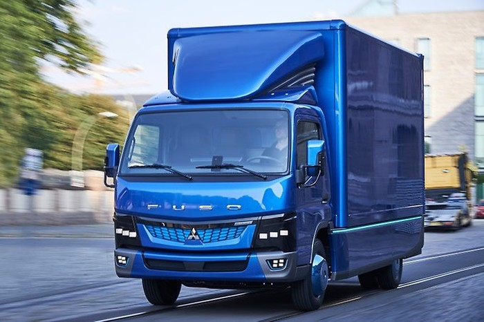 The Fuso electric truck being developed by Diamler.