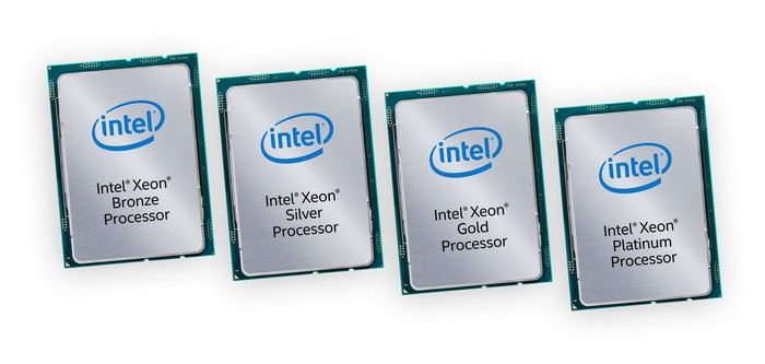 Intel's Xeon Scalable processors.