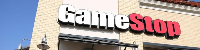 A GameStop store.