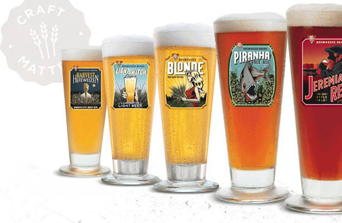 A selection of BJ's beers