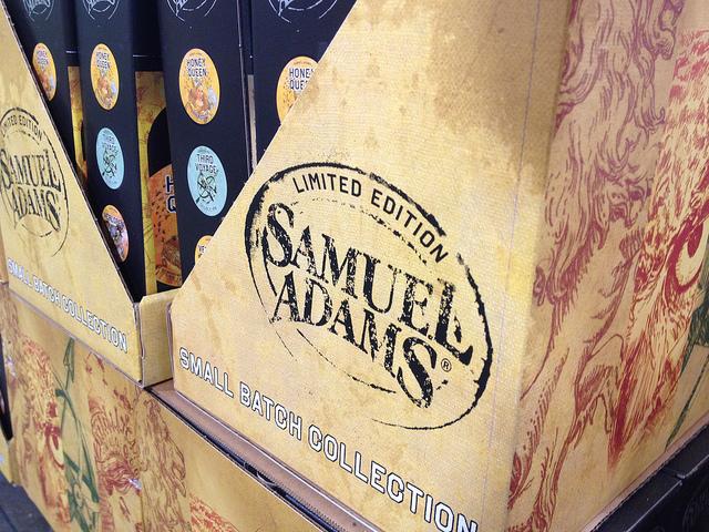 Boston Beer packaging