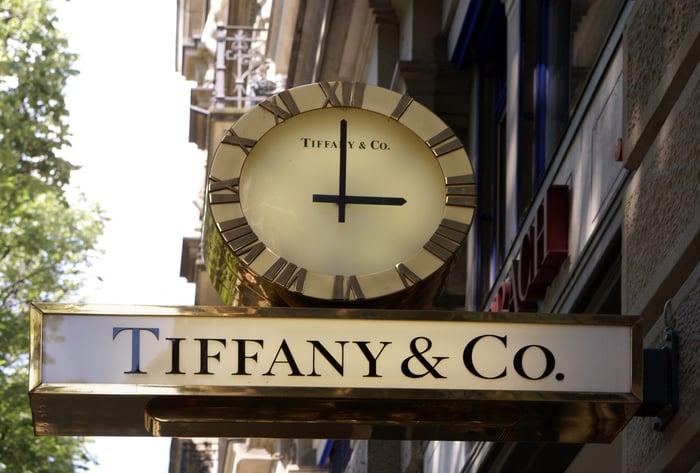 A Tiffany & Co. store.