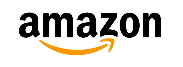 Amazon logo.