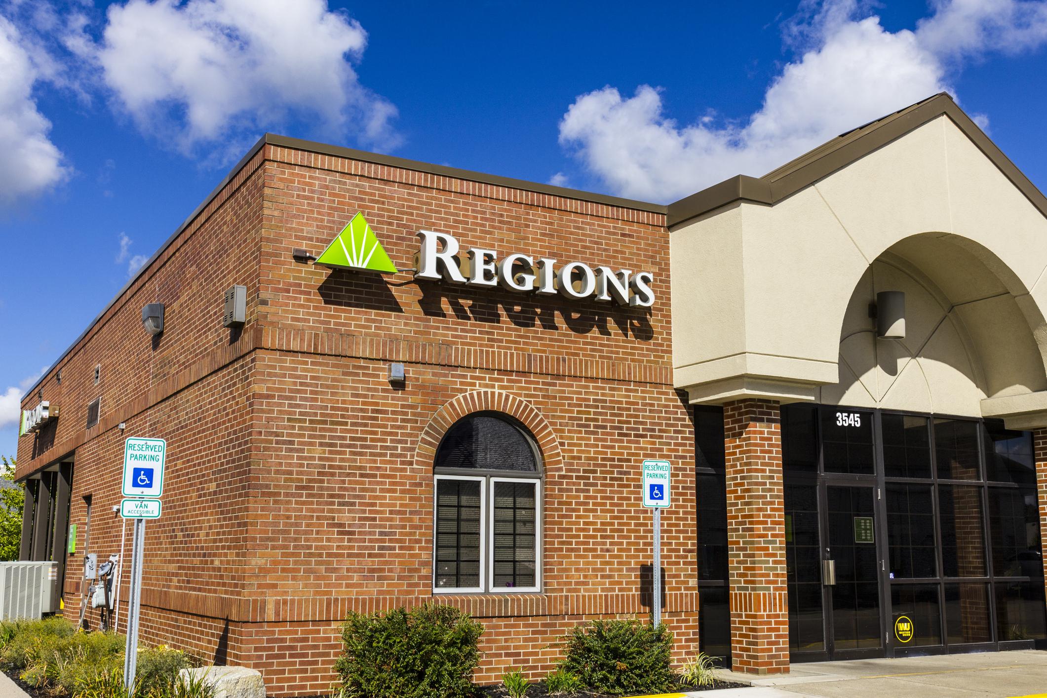 Regions Bank branch
