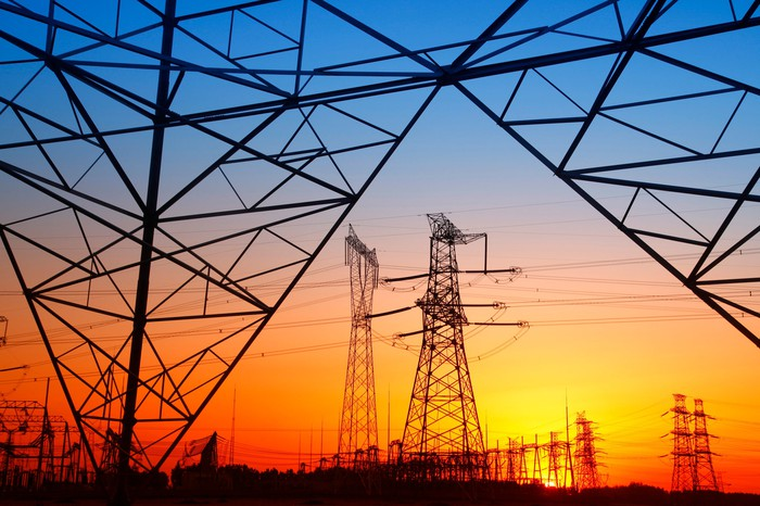 Electric lines and towers
