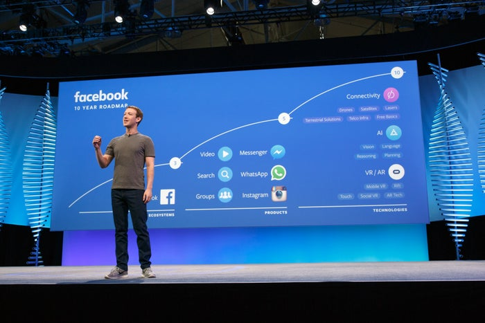 facebook is already making progress on its new mission